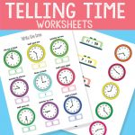 Telling Time Worksheets – Revision to The Quarter Hour