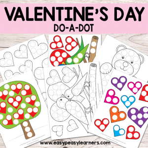 Valentines Day Do a Dot Printables