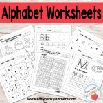 Alphabet Worksheets – ABC from A to Z
