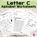 Letter C Worksheets – Alphabet Series