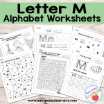 Letter M Worksheets – Alphabet Series