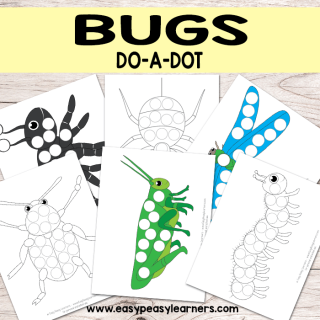 Dot Dauber Printable Bugs