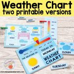Printable Weather Charts