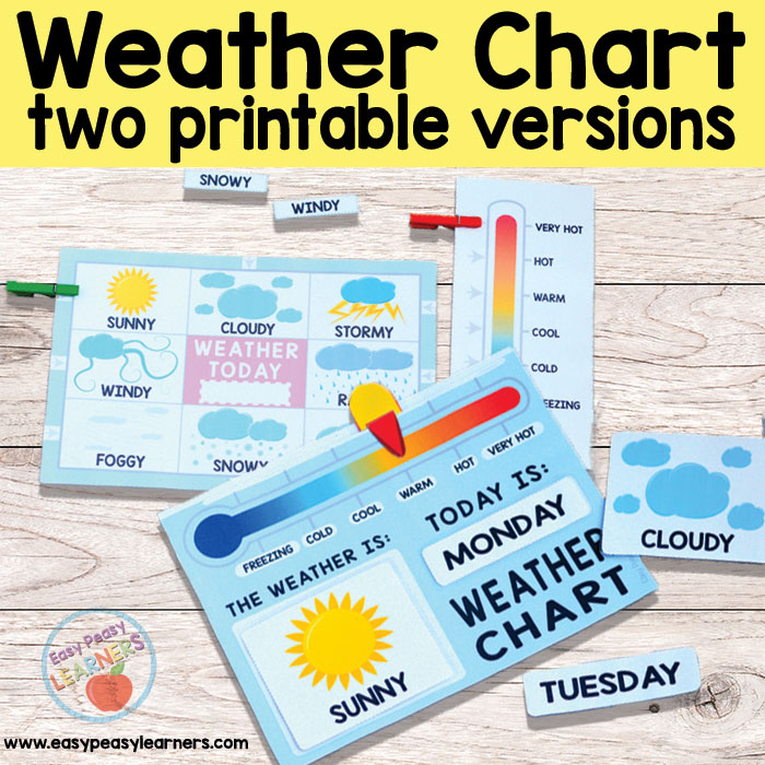 Printable Weather Charts - Weather Station
