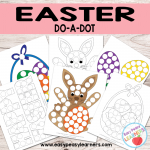 Free Easter Do a Dot Printables