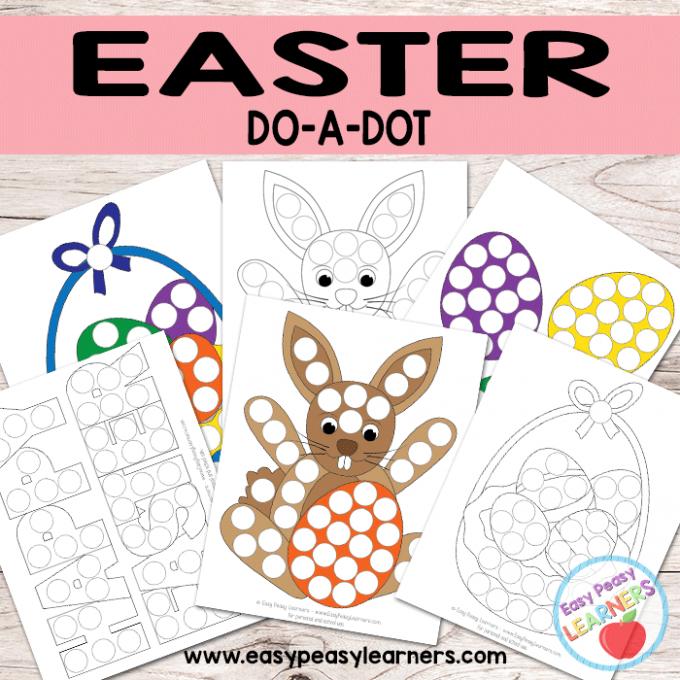 Free Easter Do a Dot Printables