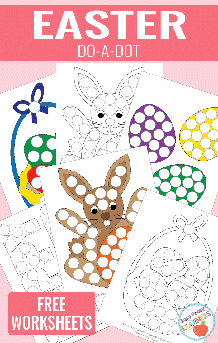 Lovely Easter Do a Dot Printables