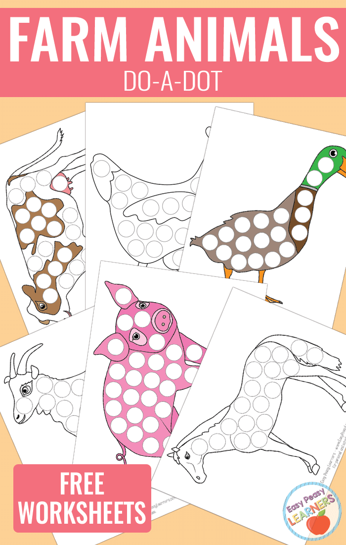 Palmer Practicality: Spring Do a Dot Printables | PreK Activities ...