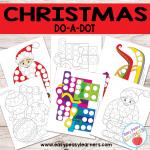 Free Christmas Do a Dot Printables