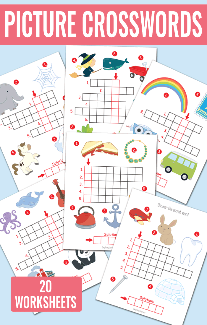 image regarding Spring Crossword Puzzle Printable identify Imagine Crossword Puzzles - Kindergarten and Quality 1