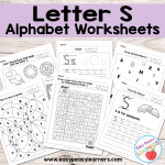 Letter S Worksheets – Alphabet Series