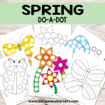 Spring Do a Dot Printables