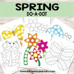 Spring Do a Dot Printables