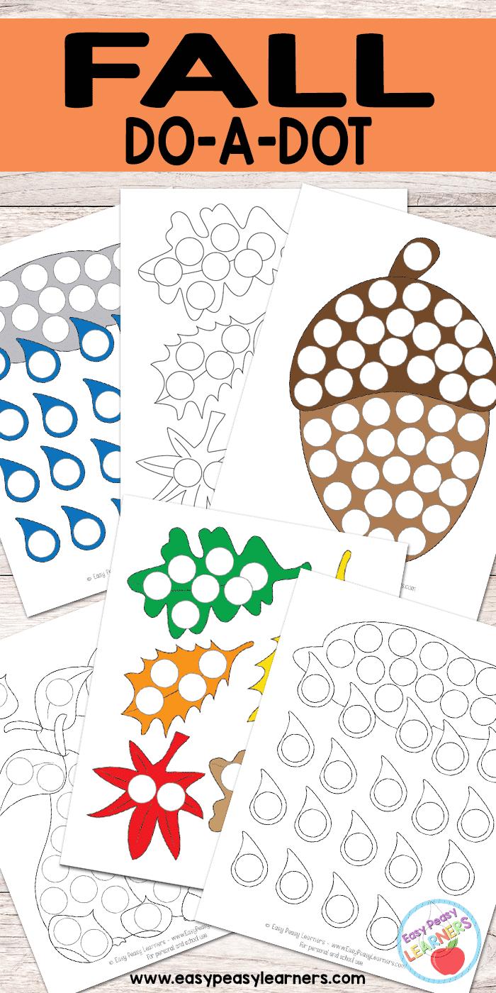 Fall - Do a Dot Printables