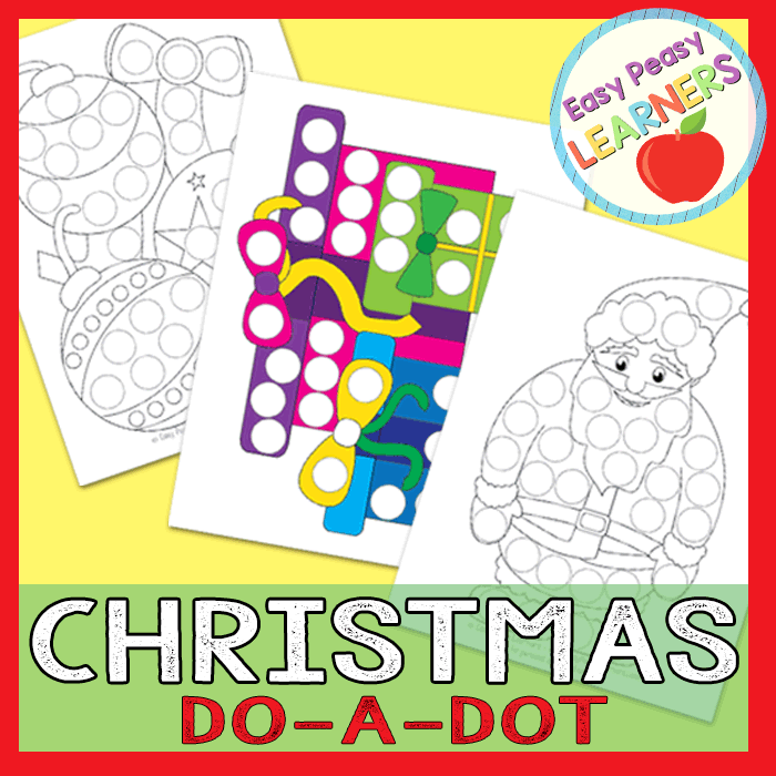 Lovely Christmas Do a Dot Printables