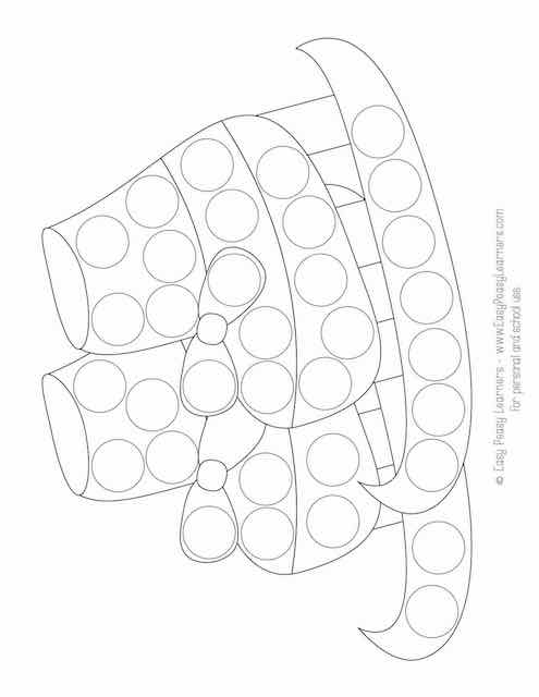 Free Winter Do A Dot Printables Easy Peasy Learners