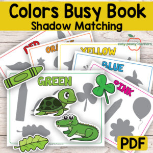 Colors Busy Book