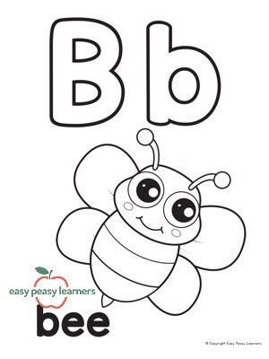 Bee Letter B